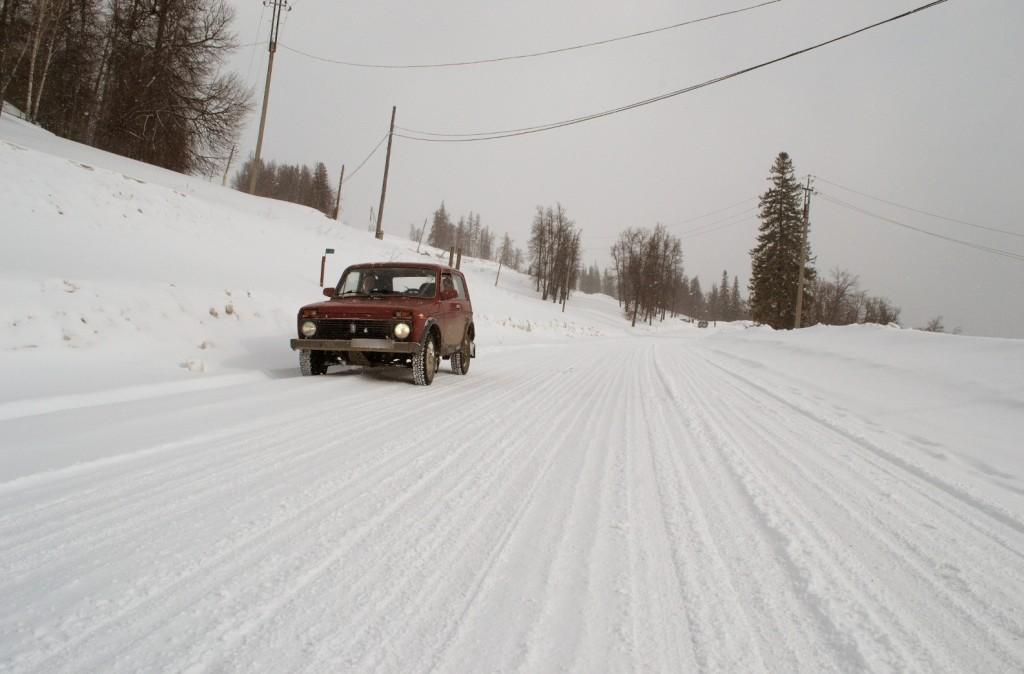 Ниф на дороге к Павловке